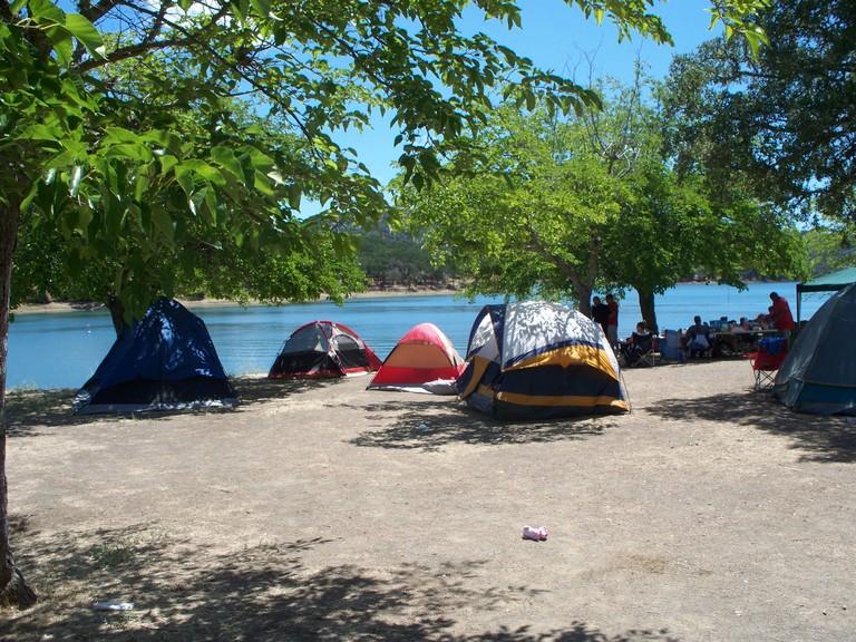 Lake Berryessa Camping