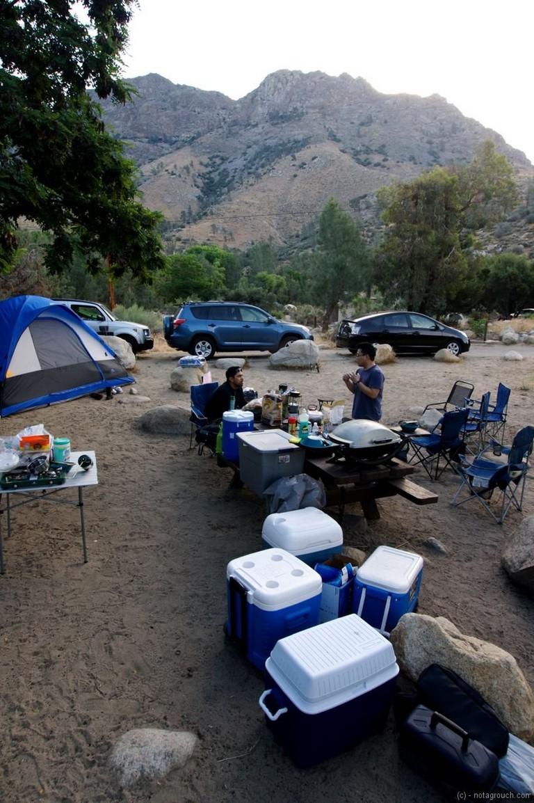 Lake Isabella Camping