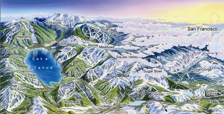 Lake Tahoe Skiing Resorts