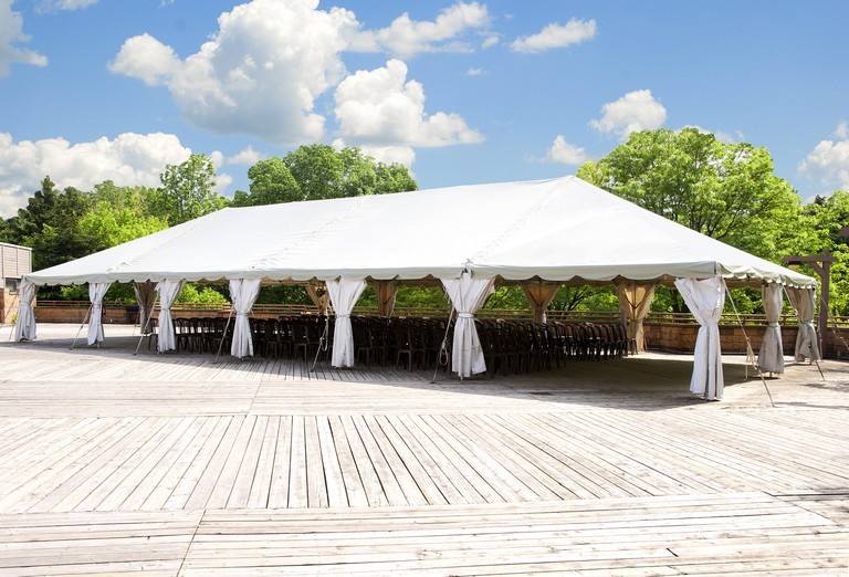 Large Wedding Tent Rentals