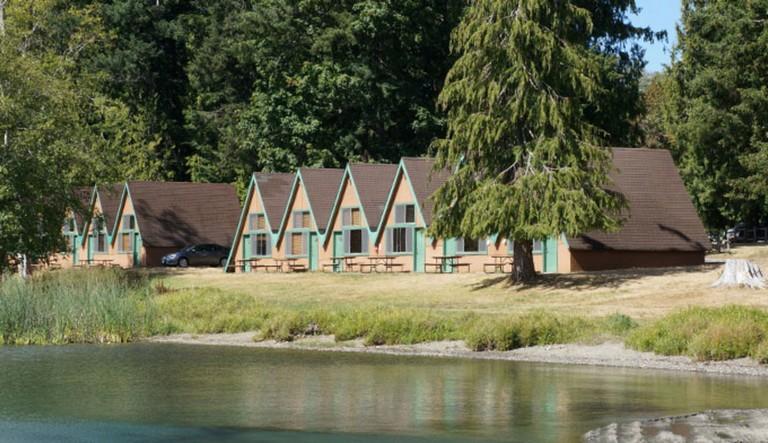 Log Cabin Resort Lake Crescent