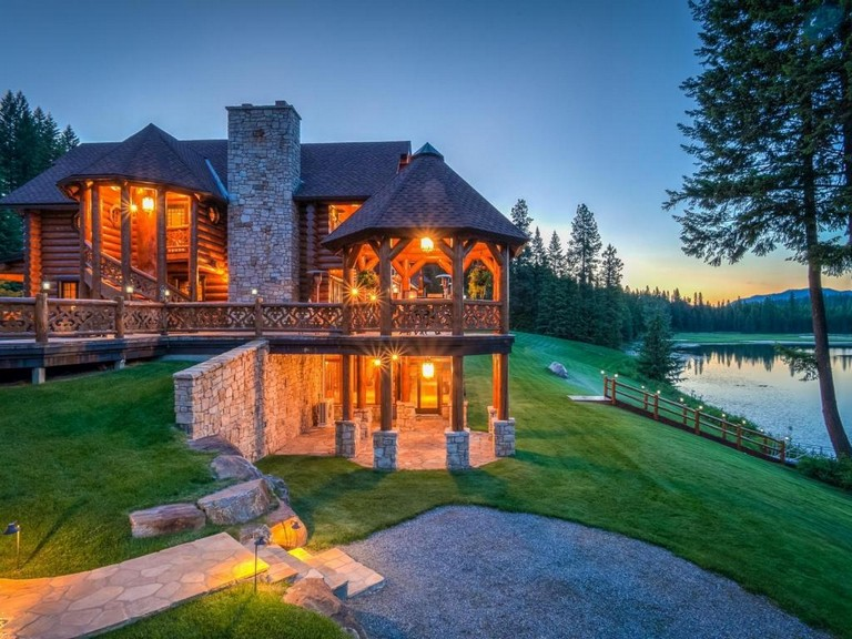 Luxury Log Cabin Homes For Sale