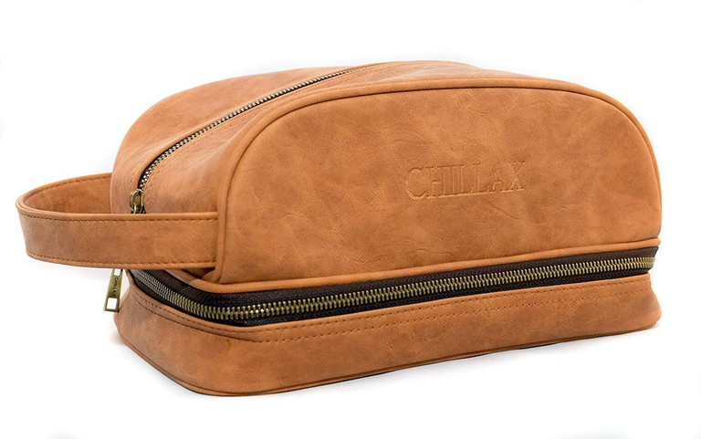 Mens Designer Toiletry Bag