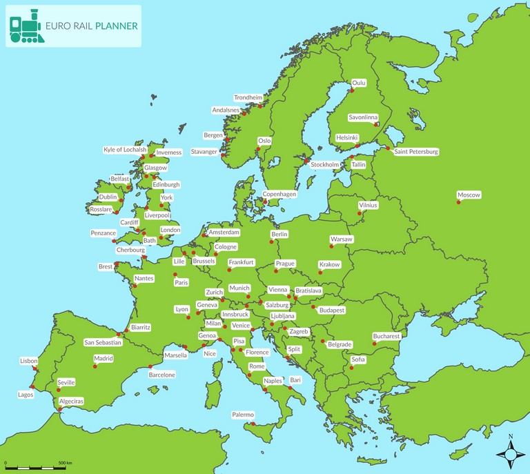 Map Europe Trip Planner Best Of Dc Metro Trip Planner