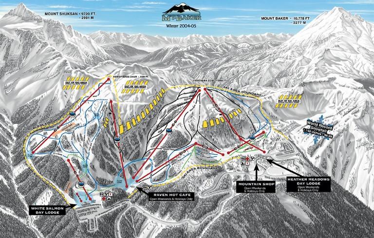 Mt Baker Ski Resort