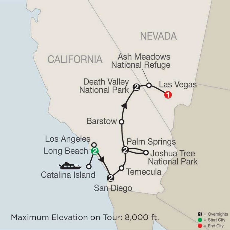 National Parks Southern California