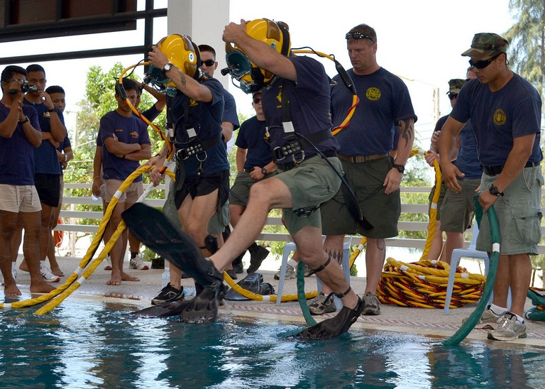 Navy Dive School