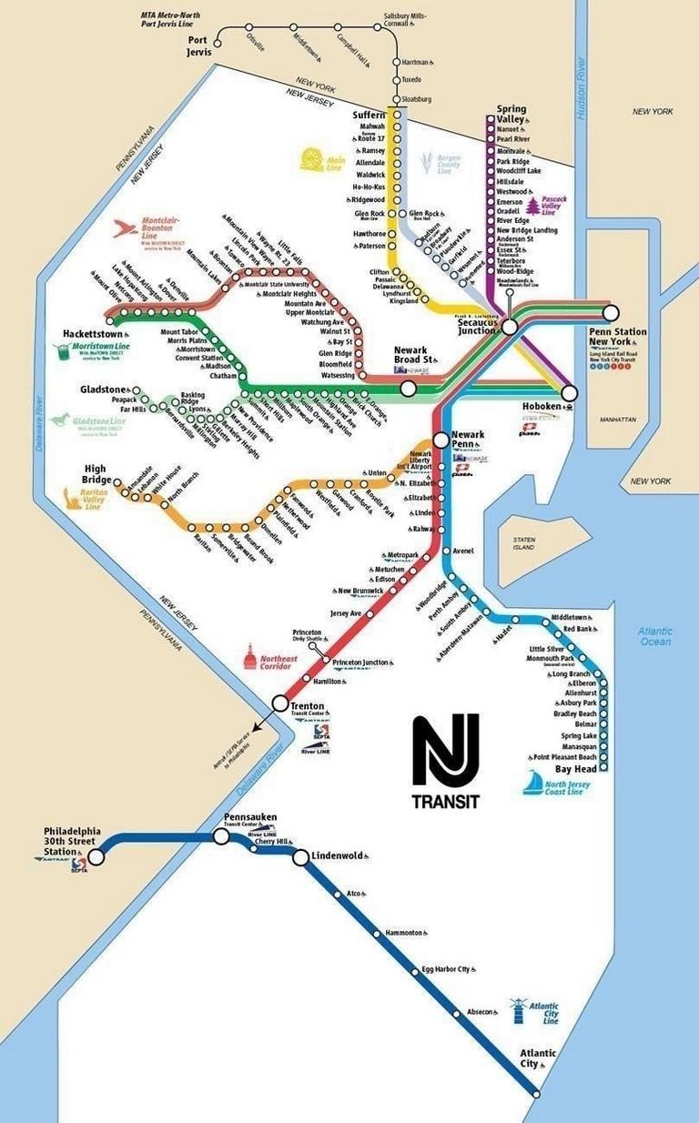 Nj Transit Trip Planner