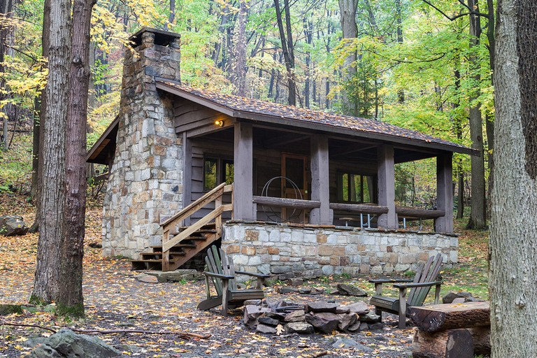 Pennsylvania State Park Cabins File Linn Run State Park Family Cabin District Cabin 9
