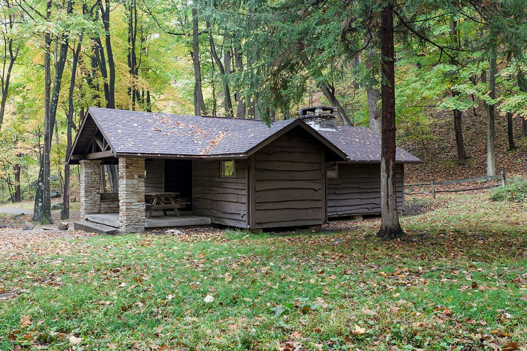 Pa State Parks Cabins Cook Township Westmoreland County Pennsylvania