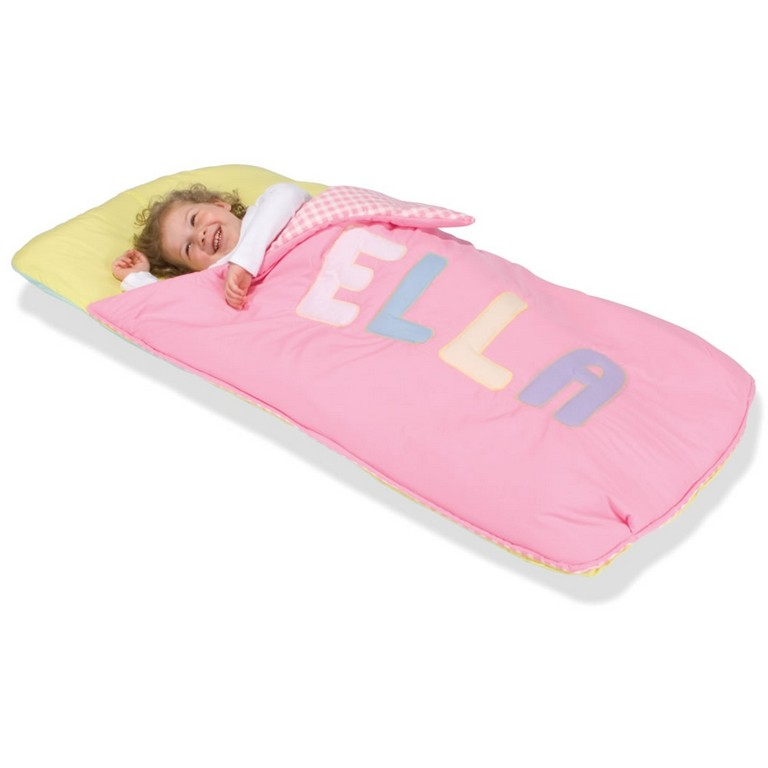 Fun Sleeping Bags For Kids Lovely The Personalized Toddler Sleeping Bag Hammacher Schlemmer