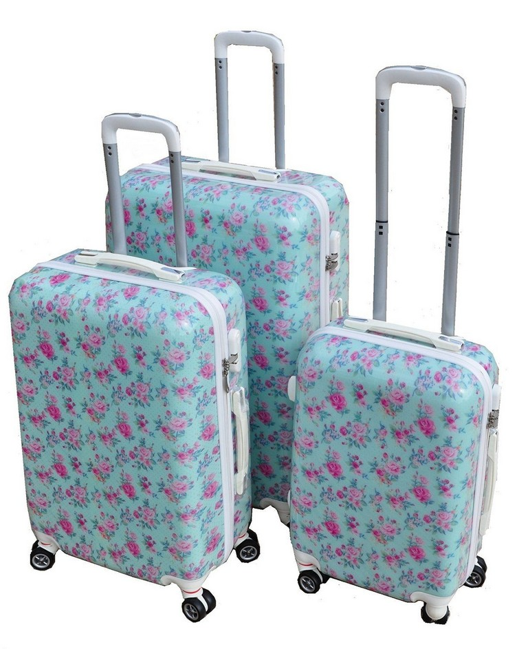 Pink Hard Shell Suitcase