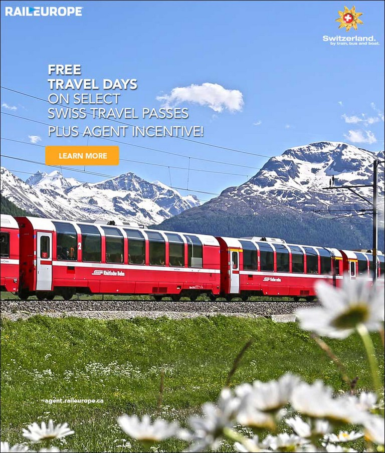 Rail Europe Travel Agent