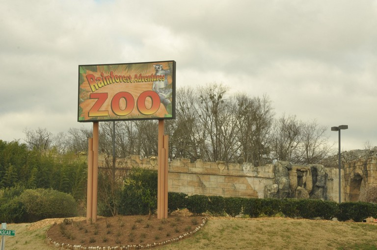 Rainforest Adventures Discovery Zoo Sevierville Tn