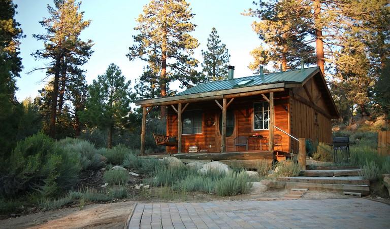 Cabins In Big Bear Mountain Sunset Cottage Cabin Rental Big Bear Ca