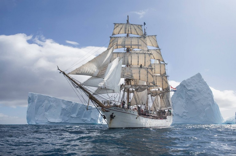 Sail To Antarctica
