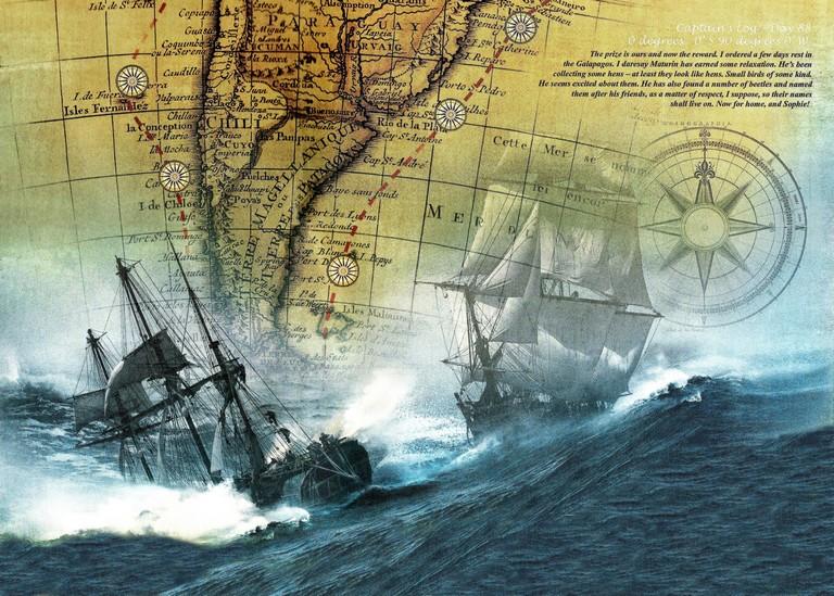 Sailing Around Cape Horn