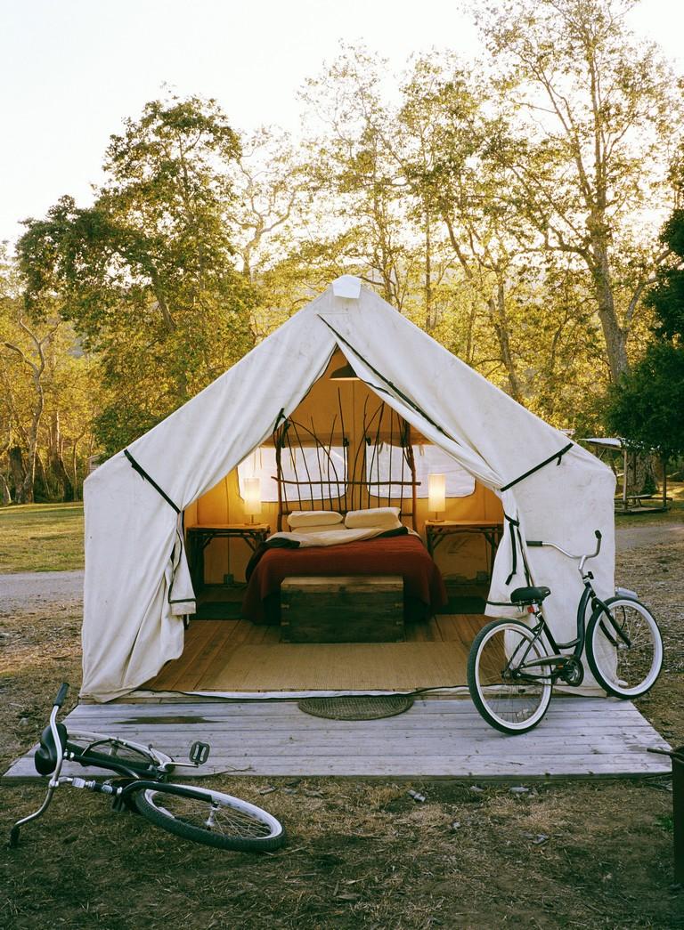 Santa Barbara Tent Camping