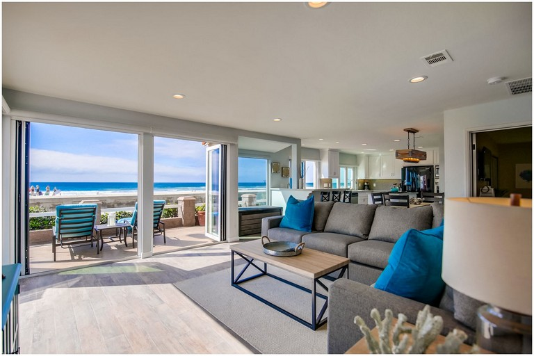 Santa Monica Beach House Vacation Rentals El Carmel 1 San Diego Beachfront Rentals In Mission Beach