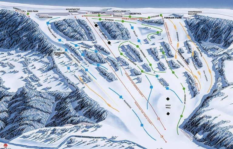 Ski Resorts In Iowa
