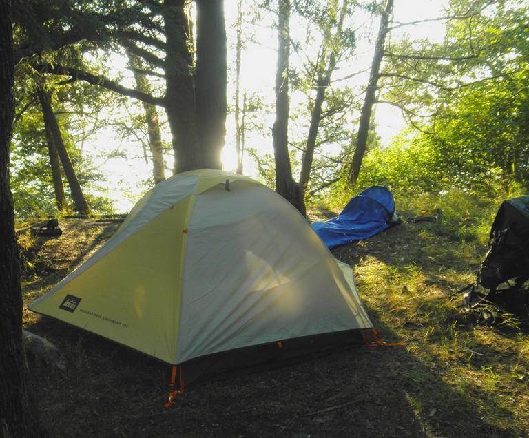 Sleeping Bear Dunes Camping