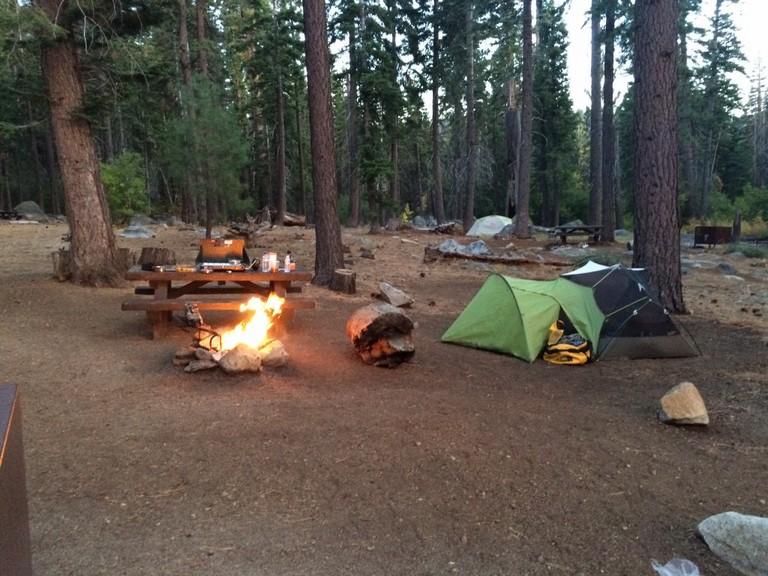 South Lake Tahoe Camping