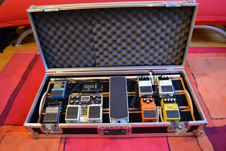 Suitcase Pedalboard