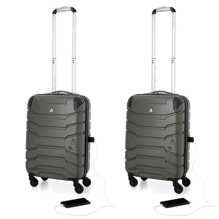 Suitcase With Usb Charger