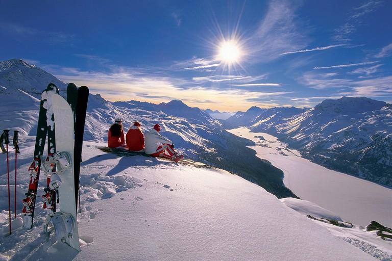 Swiss Alps Ski Resorts