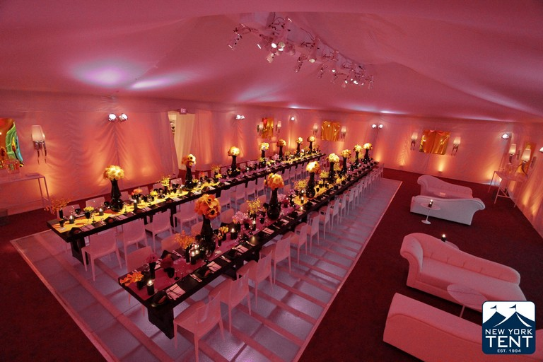 Optional Smooth Ceiling Liner & Wall Drape
