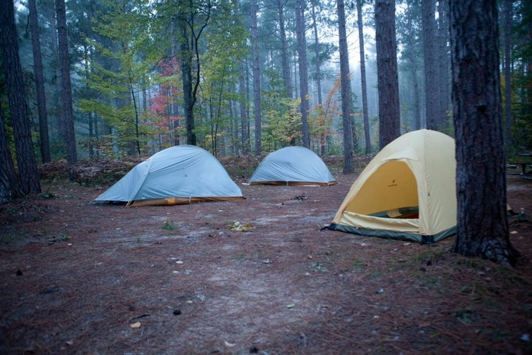 Tent Camping In Michigan