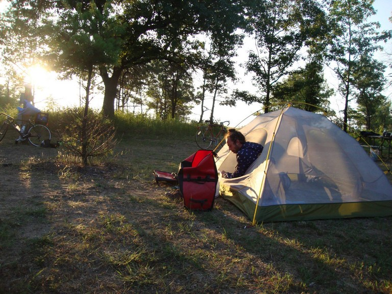 Tent Camping Near Chicago
