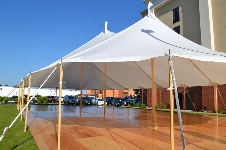 Tent Flooring Rental