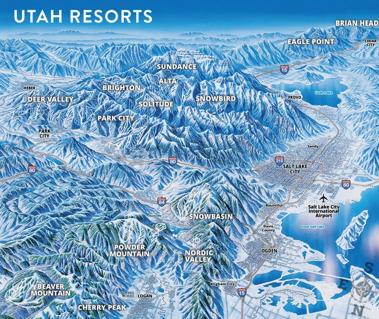 Top Ski Resorts In Utah