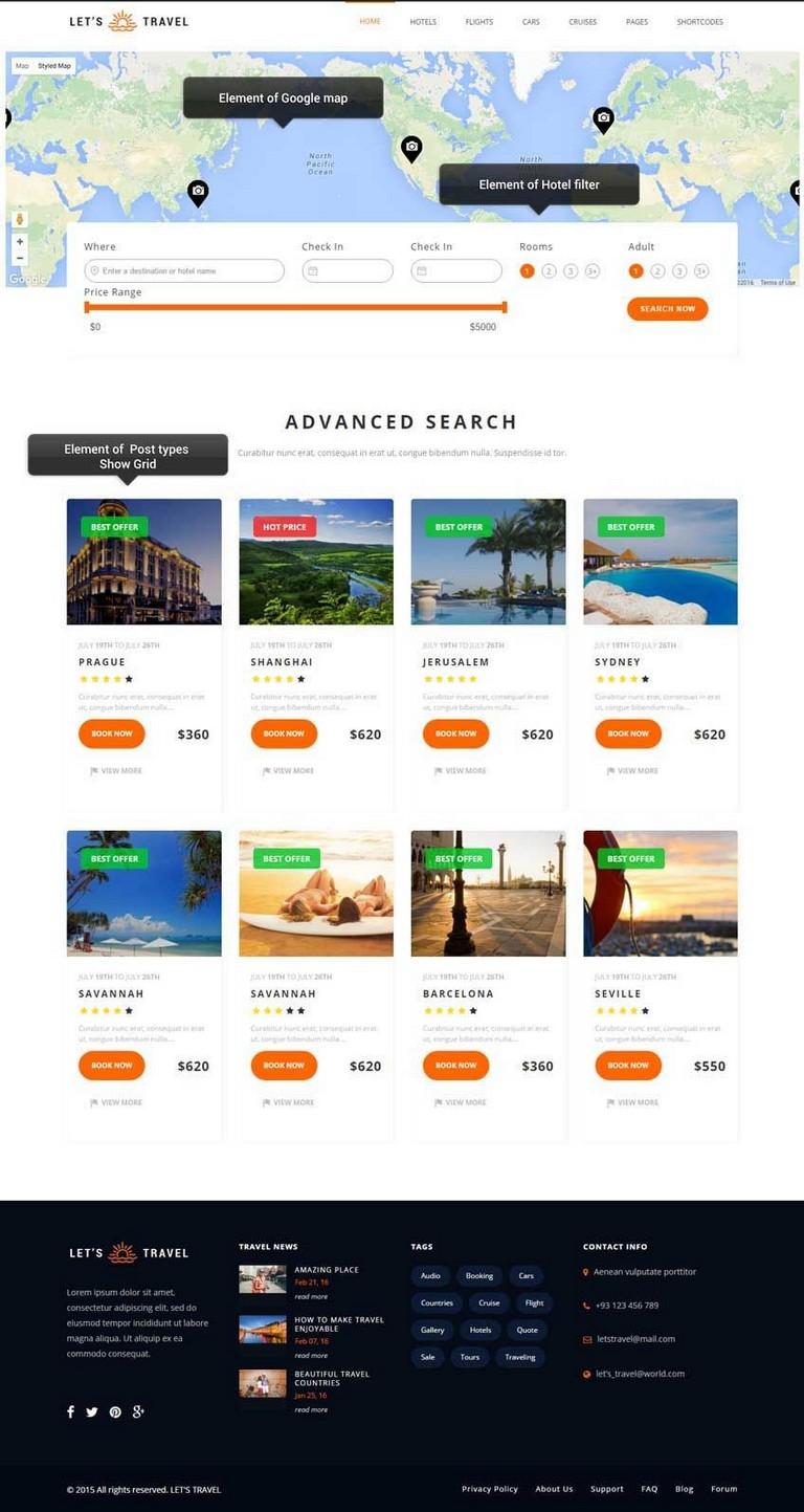 Travel Agency Sites