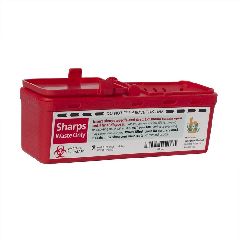 Travel Sharps Container