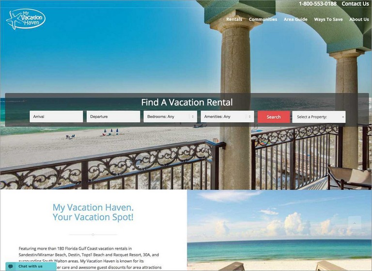 Vacation Rentals Websites