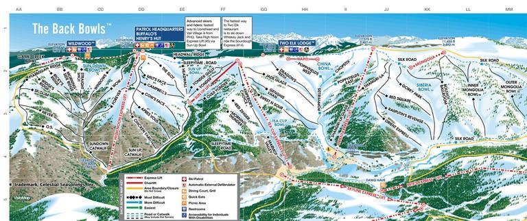 Vail Ski Resort Skiing