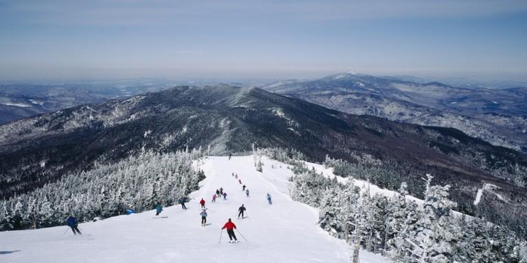 Vermont Skiing Resorts