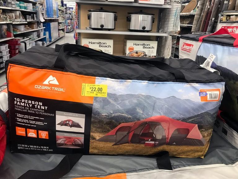 Walmart Camping Gear