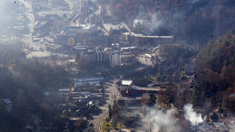 Westgate Smoky Mountain Resort Fire