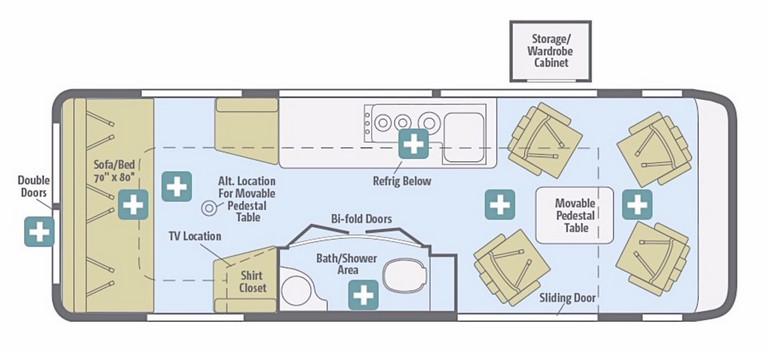 Winnebago Travel Trailer Floor Plans Uncategorized Winnebago View Floor Plan Unbelievable