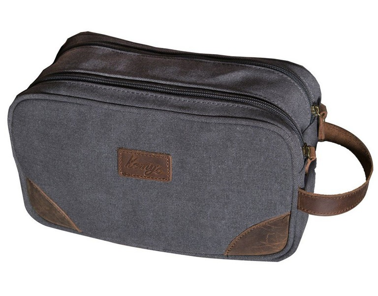 Womens Leather Toiletry Bag