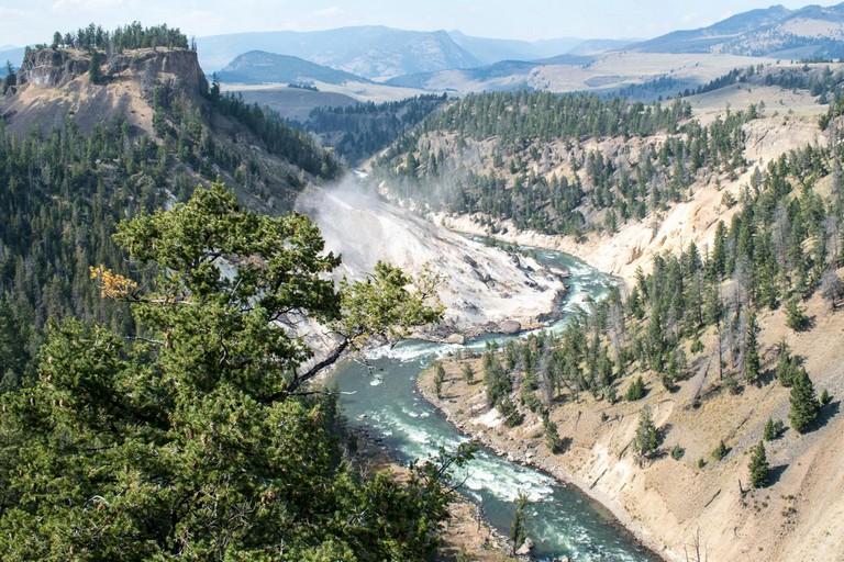 Yellowstone National Park Roads