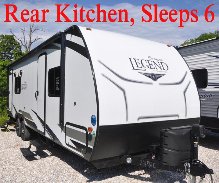 Rear Kitchen Travel Trailer