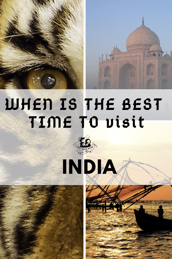 Best Time To Travel To India